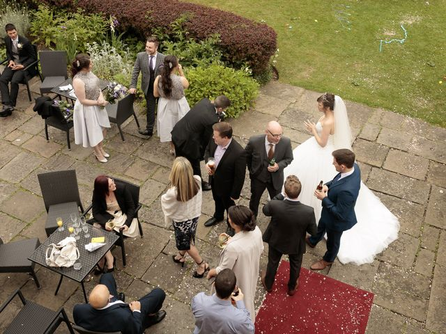 Scott and Sam's Wedding in Chester, Cheshire 35