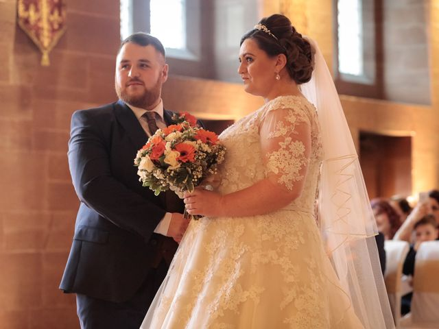 Anthony and Stephanie's Wedding in Peckforton, Cheshire 1