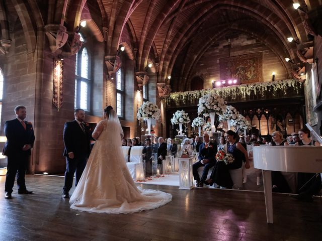 Anthony and Stephanie's Wedding in Peckforton, Cheshire 2