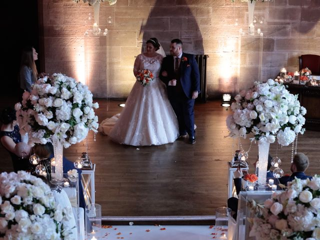 Anthony and Stephanie's Wedding in Peckforton, Cheshire 8
