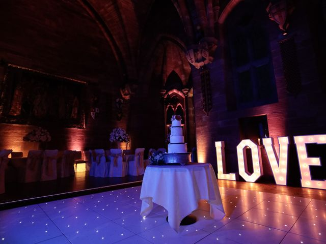 Anthony and Stephanie's Wedding in Peckforton, Cheshire 11
