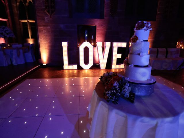 Anthony and Stephanie's Wedding in Peckforton, Cheshire 12