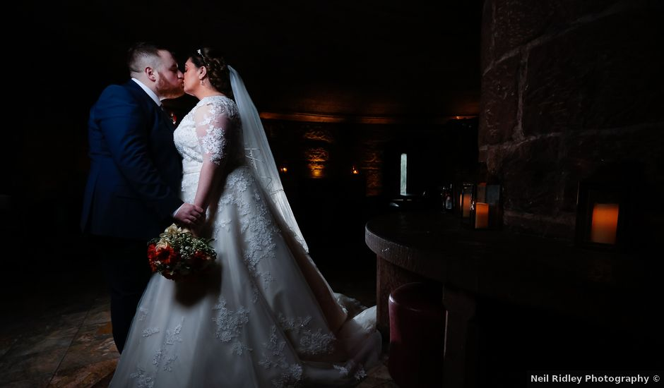 Anthony and Stephanie's Wedding in Peckforton, Cheshire