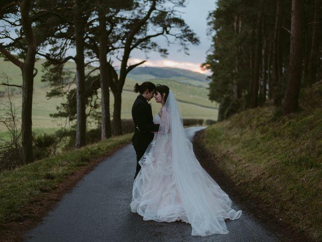 Aiden and Georgia's Wedding in Scottish Borders, Lothian & Borders 108