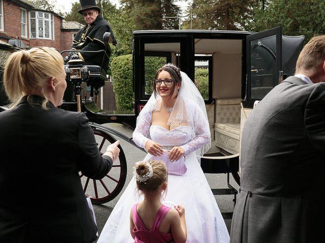 John and Becca's Wedding in Preston, Lancashire 13