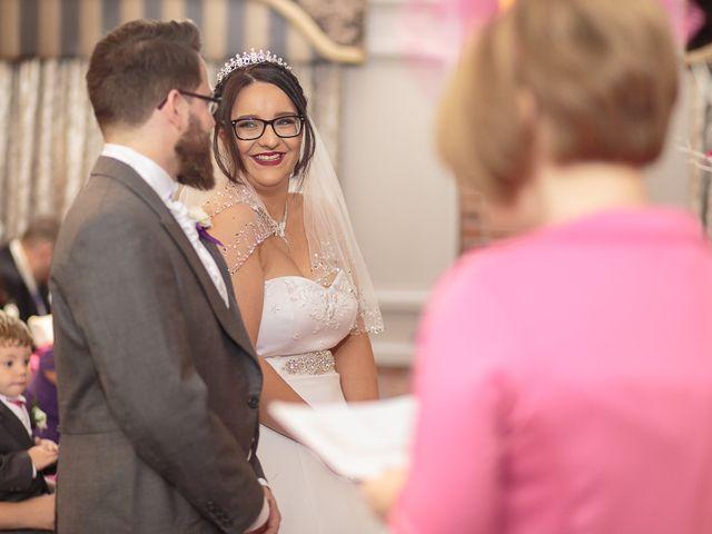 John and Becca's Wedding in Preston, Lancashire 15
