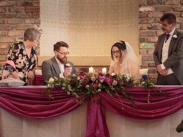 John and Becca's Wedding in Preston, Lancashire 17