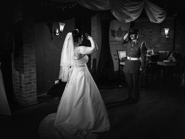 John and Becca's Wedding in Preston, Lancashire 28