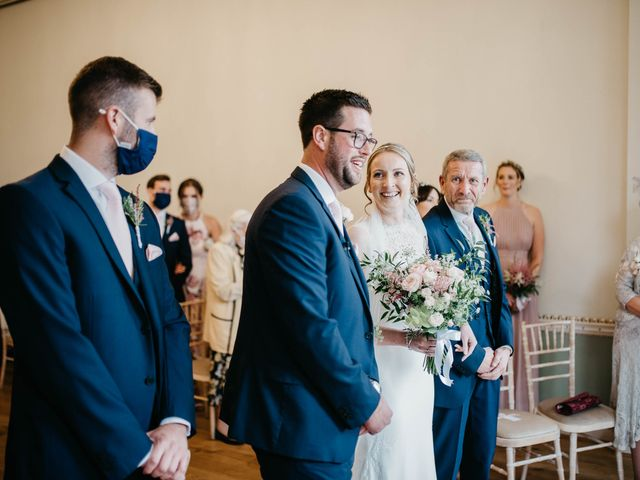 Liam and Kelly's Wedding in East Malling, Kent 20