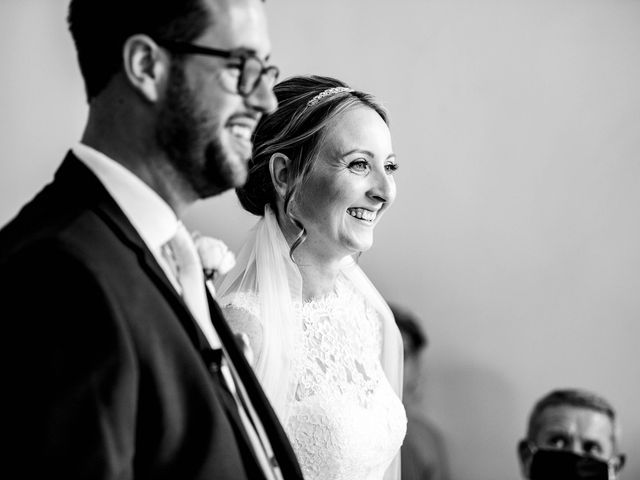 Liam and Kelly's Wedding in East Malling, Kent 21