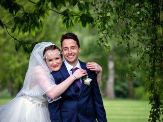 Caitlin & George's wedding