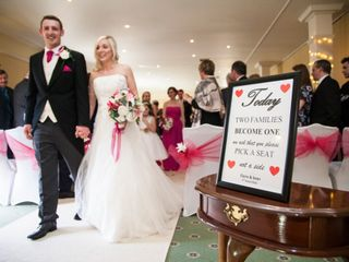 Sean & Claire's wedding