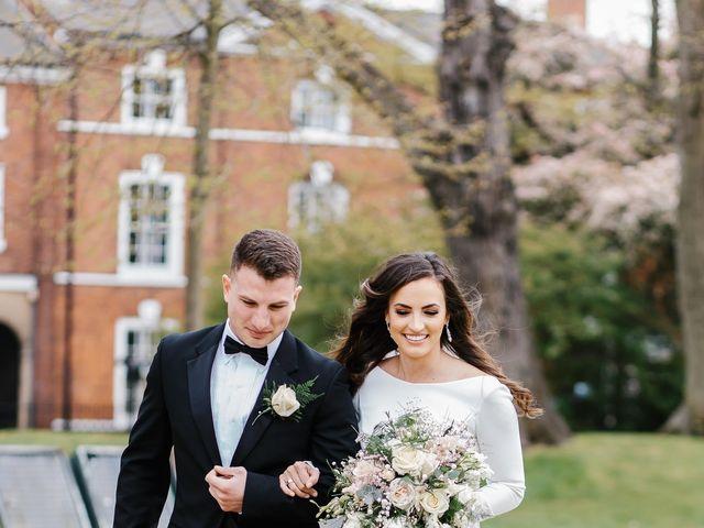 Matthew and Lauren's Wedding in York, North Yorkshire 16