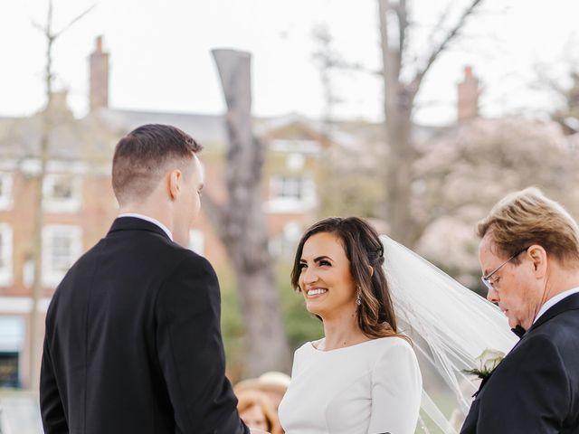 Matthew and Lauren's Wedding in York, North Yorkshire 20