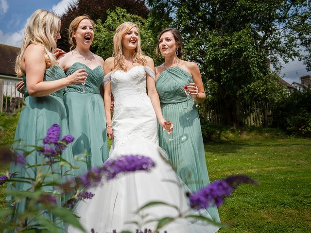Daniel and Louise's Wedding in Chilham, Kent 2
