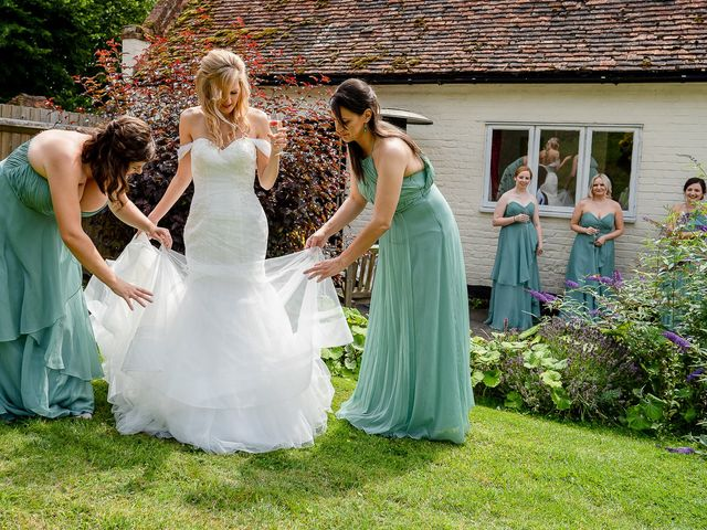 Daniel and Louise's Wedding in Chilham, Kent 3