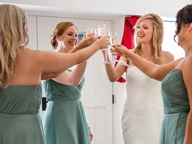 Daniel and Louise's Wedding in Chilham, Kent 5