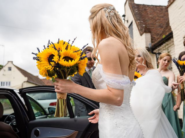 Daniel and Louise's Wedding in Chilham, Kent 6