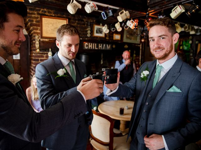 Daniel and Louise's Wedding in Chilham, Kent 8