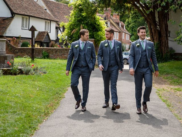 Daniel and Louise's Wedding in Chilham, Kent 9