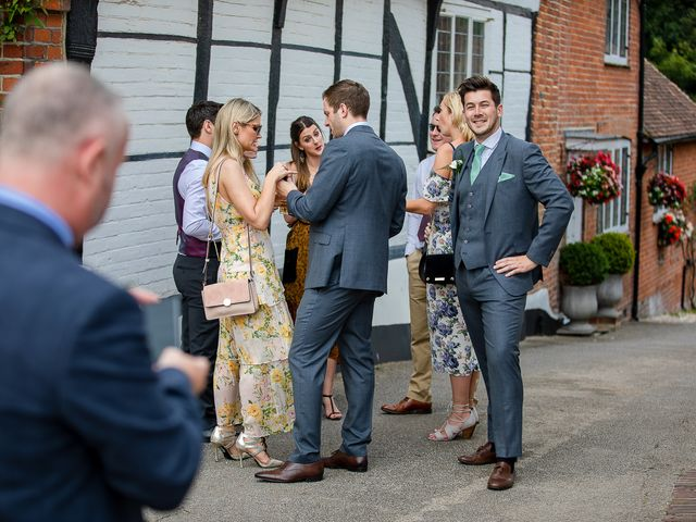 Daniel and Louise's Wedding in Chilham, Kent 12
