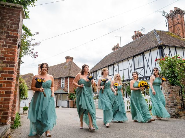 Daniel and Louise's Wedding in Chilham, Kent 14