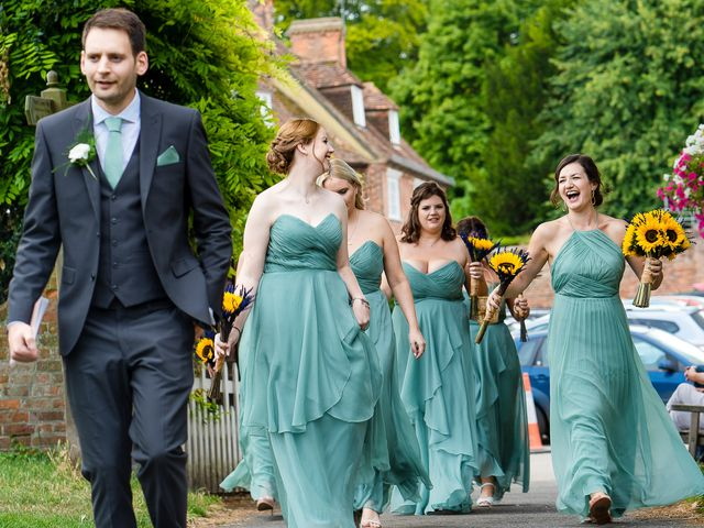 Daniel and Louise's Wedding in Chilham, Kent 16