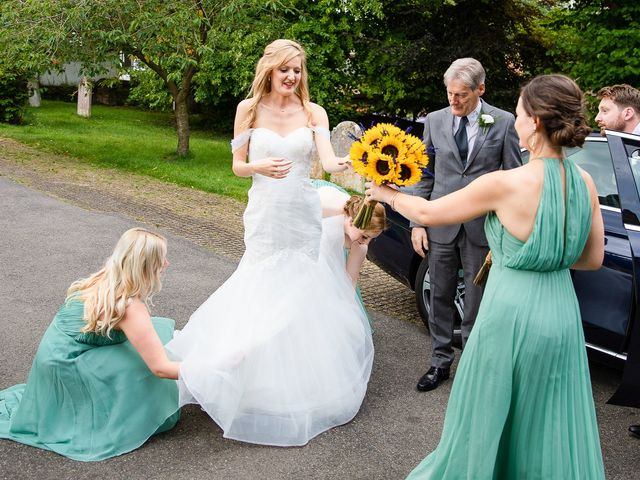 Daniel and Louise's Wedding in Chilham, Kent 17