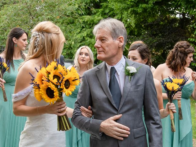 Daniel and Louise's Wedding in Chilham, Kent 18