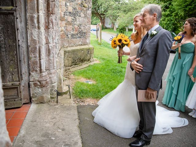 Daniel and Louise's Wedding in Chilham, Kent 19