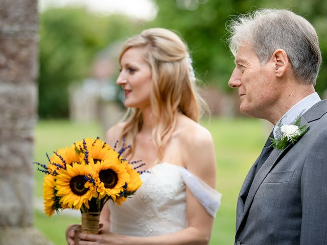Daniel and Louise's Wedding in Chilham, Kent 20