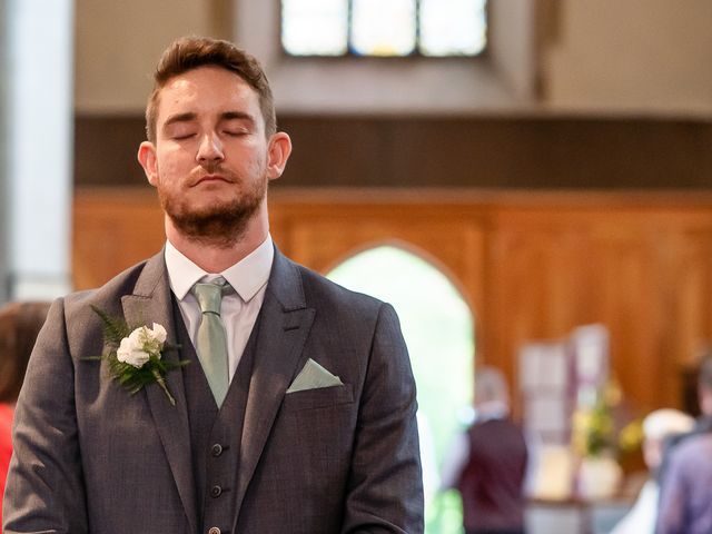 Daniel and Louise's Wedding in Chilham, Kent 22