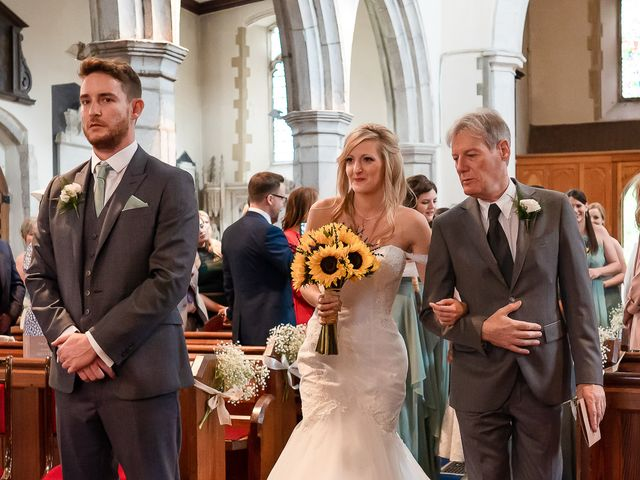 Daniel and Louise's Wedding in Chilham, Kent 23