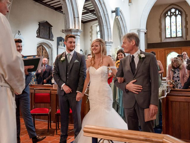Daniel and Louise's Wedding in Chilham, Kent 24