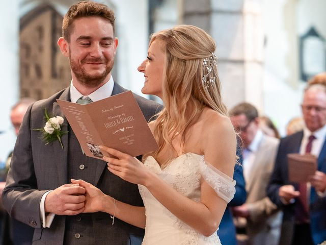 Daniel and Louise's Wedding in Chilham, Kent 25