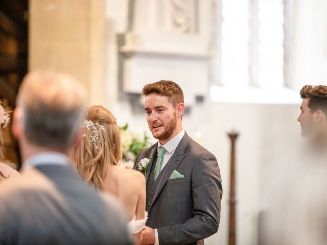 Daniel and Louise's Wedding in Chilham, Kent 30