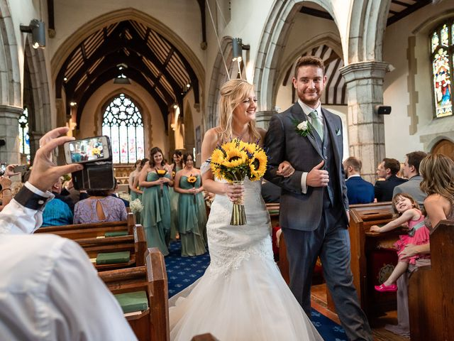 Daniel and Louise's Wedding in Chilham, Kent 34