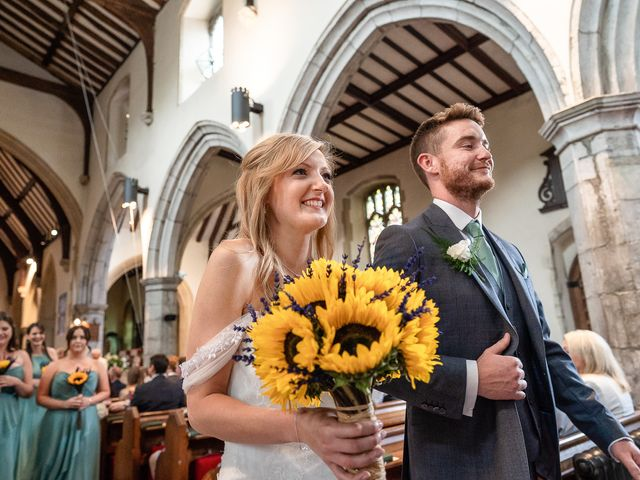Daniel and Louise's Wedding in Chilham, Kent 35