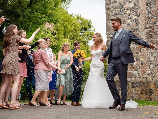 Daniel and Louise's Wedding in Chilham, Kent 36