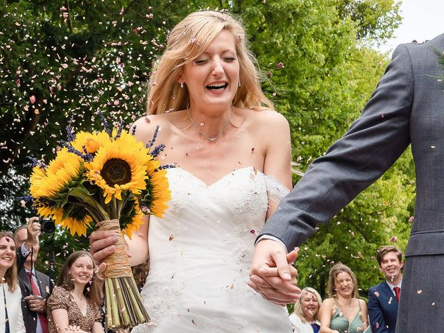 Daniel and Louise's Wedding in Chilham, Kent 37