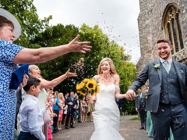 Daniel and Louise's Wedding in Chilham, Kent 1