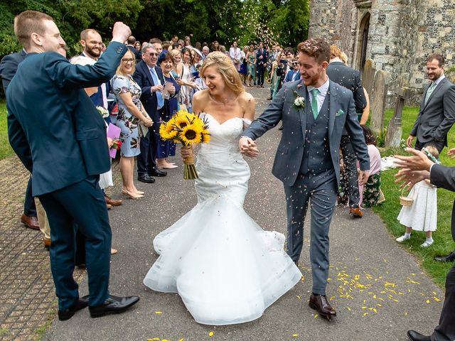 Daniel and Louise's Wedding in Chilham, Kent 38