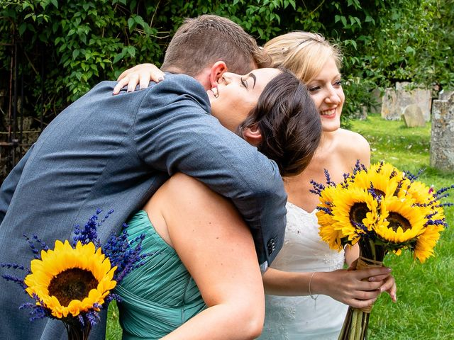 Daniel and Louise's Wedding in Chilham, Kent 41