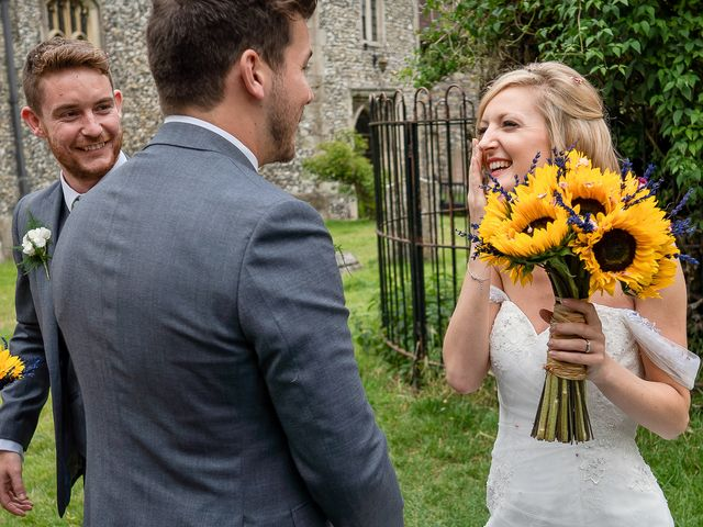 Daniel and Louise's Wedding in Chilham, Kent 42