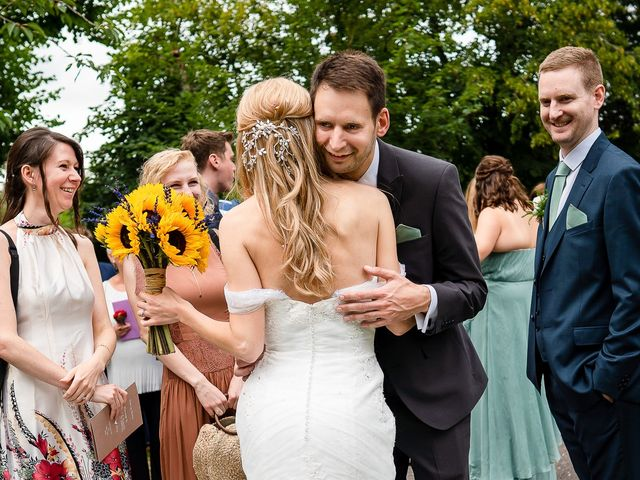 Daniel and Louise's Wedding in Chilham, Kent 43