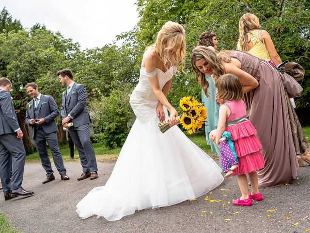 Daniel and Louise's Wedding in Chilham, Kent 44