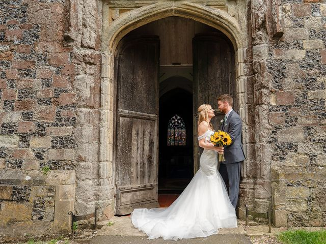 Daniel and Louise's Wedding in Chilham, Kent 45