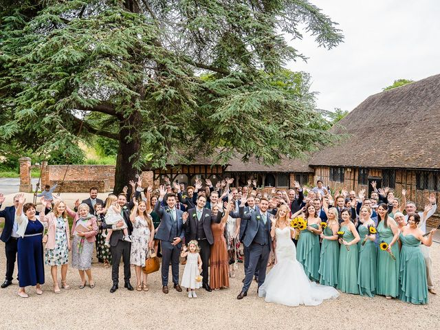 Daniel and Louise's Wedding in Chilham, Kent 48