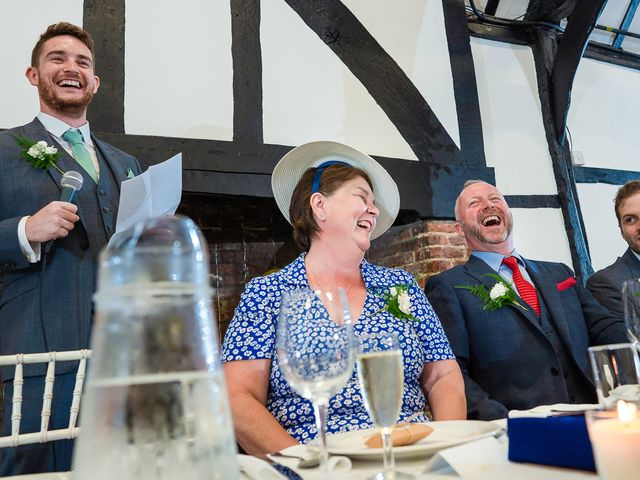 Daniel and Louise's Wedding in Chilham, Kent 56