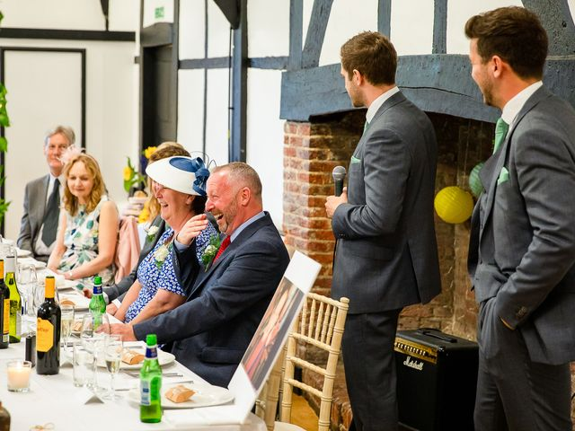 Daniel and Louise's Wedding in Chilham, Kent 57